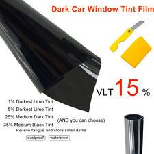 Solar Vetana Lamina Universal Película Tinte Coche Film Oscuro Negro 6M*76cm 15%