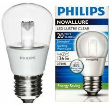 Ampoule à LED Philips Novallure 3W E27 blanc chaud