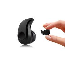 Oreillette Bluetooth Sans Fil Ultra Mini Pour Smartphones IPhone Neuf - NOIR
