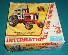 International 1466 Tractor Ertl 1/25 Complete & Unstarted.