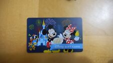 Disney Mickey and Minnie Mouse fire works gift card. no cash value