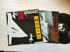 Honeymoon in Red Lydia Lunch LP nick cave sonic youth birthday party '87 w/inser