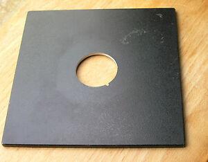 Horseman original  lens board panel for copal 0 compur 0 34.8mm hole lock slot