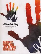Aretha Franklin / Alicia Keys 2009 Nelson Mandela Day Concert Program / Nm 2 Mnt