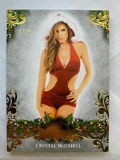 2019 BENCHWARMER HOLIDAY ARCHIVE CRYSTAL MCCAHILL GOLD FOIL BASE CARD /25