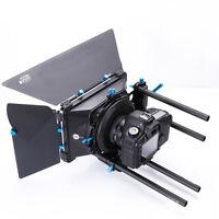 FOTGA DP3000 PRO Cameras Swing Away Matte Box for 15mm Rod DSLR Rail Support Rig