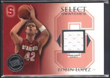 ROBIN LOPEZ 2008/09 PRESS PASS LEGENDS RC SELECT SWATCHES RELIC JERSEY SP $20