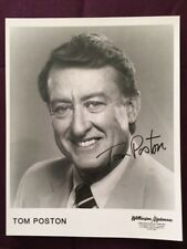 Tom Poston Newhart Show Actor Autographed Signed Photo