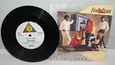 "7"" Single - Five Star - All Fall Down - Tent PB 40039 - 1985"