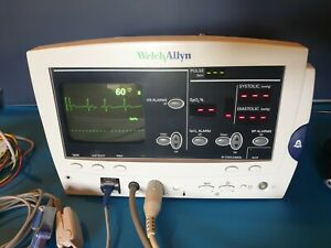 Welch Allyn 6200 Series Patient Monitor - ECG NiBP SpO2 and Printer