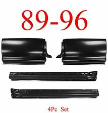 89 96 Toyota Pick Up 4Pc Extended Rocker & Extended Cab Corner Kit, 2WD & 4WD