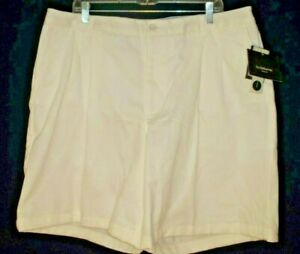 "NEW Liz Claiborne ""Audra"" Pleated Shorts Womans 20W White 100% Cotton NWT"