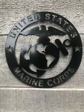 US Marine Corps Commemorative Wall Sign 16g Steel Powder Coated $5 Shipping!