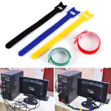 Attaches et organisateurs de câbles informatiques multicolore