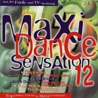Maxi Dance Sensation 12 (1994) Cappella, Loft, Dr. Dre, FgtH, Stakka Bo.. [2 CD]