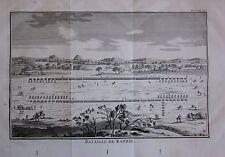 1774 BATAILLE DE RAPHIE Polibio Battaglia di Rafah Battle of Raphia رفح