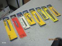 Lot of 8 Various Screw Extractor Plug Tap Irwin Hanson Master Mechanic