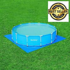 Swimming Pool Floor Protector Spa Ground Lawn Cloth 13 X 13 Ft Protects Grass