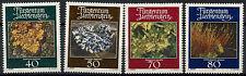 Liechtenstein 1981 SG # 771-4 muschi e licheni MNH Set #D designate