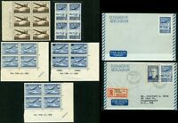 SUOMI FINLAND Airmail Collection Blocks Cover Stationery Stamps Postage MINT NH