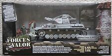 Forces of Valor chars 80317 German Panzer IV Tank 1/32/roi dragon pays