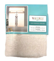 Waverly Home One Printed Tier & Valance Curtain Set