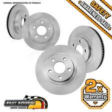 Front 303mm and Rear 278mm Brake Rotors CHEVY IMPALA MONTE CARLO LS LT LTZ SS