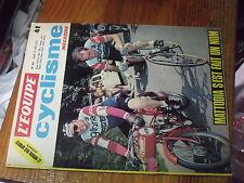 1µ??  Revue L'Equipe Cyclisme n°63 Mattodia Maertens Delepine Ocana