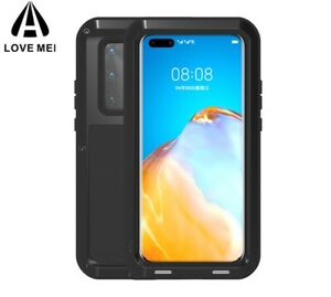 LOVE MEI Metal Aluminum Armor Duty Shockproof Cover For Huawei P40 Pro / P40
