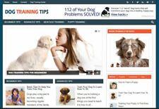 Dog Training Niche Affiliate Website Work Online From Home Internet Business
