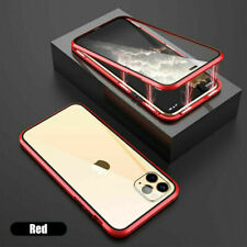 For Phone 11 Pro Max XR 7 8 Plus XS X Magnetic 360 Protective Case Clear Cover
