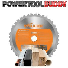 Evolution Rage Orange 185mm x 20TCT Multipurpose Circular Saw Blade
