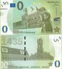 Biljet billet zero 0 Euro Memo - Brugge Historium (068)