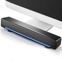 Barre de son Haut-parleur TV Cinéma Maison 3D Stereo Soundbar pour Téléphone PC