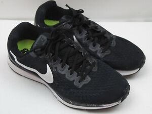 Nike Air Zoom Pegasus 34 880560-001 Women's Size 10 Black Running Shoes 6942