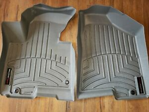 WeatherTech FloorLiner Mats Hyundai Tucson/Kia Sportage-1st Row - Gray 2010-13