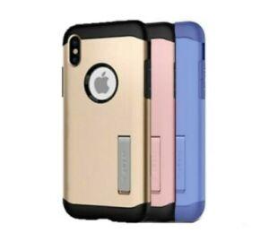 iPhone XS/X Case- Spigen [Slim Armor - Kickstand]