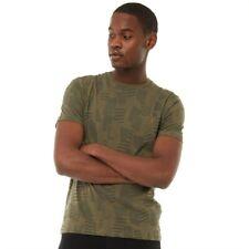 Farah Vintage Mens Riverside T-Shirt Vintage Green Size M