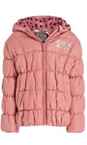 -50% Pepe Jeans warme Winterjacke Gr.128/8Y~dusty rose~NP 89,95 €~NEU