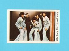 The DeFranco Family Tony Vintage 1970s Pop Rock Music Card from Sweden #735