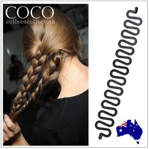 Fish Bone Hair Braiding French Braid Tool Roller Magic Twist Styling Bun Maker