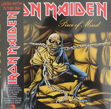 Piece of Mind by Iron Maiden (Picture Disc Vinyl LP, 2012 EMI, Limited Edition)