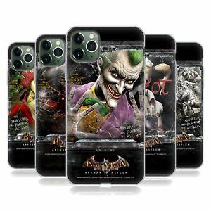 OFFICIAL BATMAN: ARKHAM ASYLUM POSTERS SOFT GEL CASE FOR APPLE iPHONE PHONES