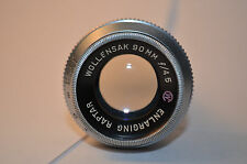 Rare Wollensak 90 mm F/4.5 Enlarging Raptar Projection lens 16mm Cine Format