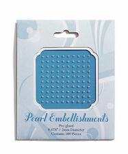 2mm Stationery Jewels Pearl Wedding Decorations Embellishments 100/pk
