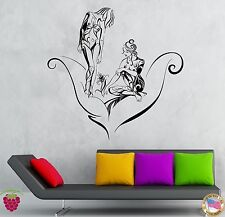 Wall Stickers Vinyl Decal Two Naked Girls And Flower Decor For Bedroom (z1935)