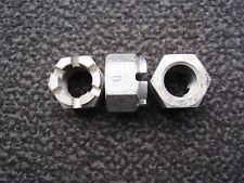 2x Kronenmutter M20 x1,5 / DIN 935 - 8G / Bauart B / Stahl