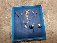 Diamond .10ctw Round  Earrings & Pendant With Chain