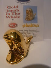 Wade Whimsie JONAH & THE WHALE - Gold LE 50