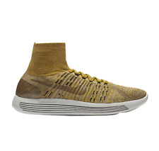 NIKELAB LUNAREPIC FLYKNIT Trainers Gym Casual - UK Size 10 (EUR 45) Golden Beige